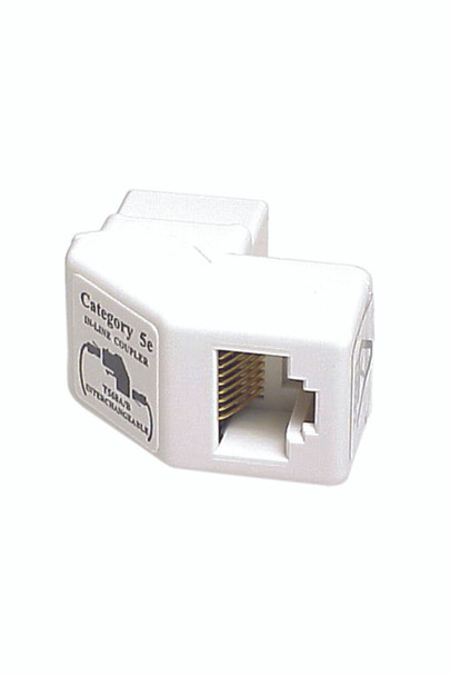 Cat 5e R/A Coupler Keystone - P2324