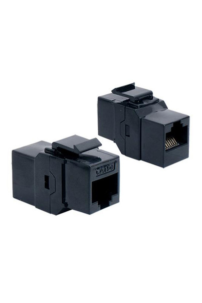 Cat 5e RJ45 Coupler Keystone Black - P2363-B5E