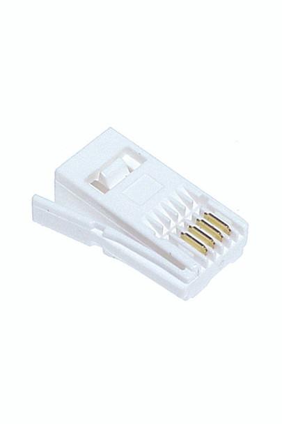 UK/NZ Mod Plug 6P6C - P3001