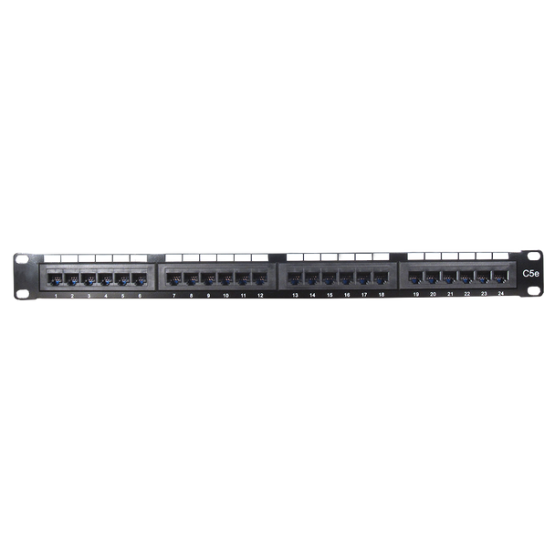 Cat 5E 24 Port Patch Panel