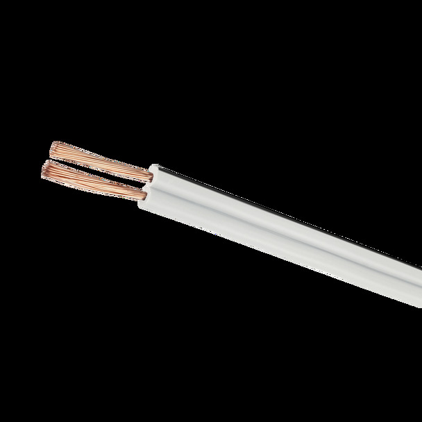 Fig-8 14/0.20 100m 22AWG White - Y3401WHI