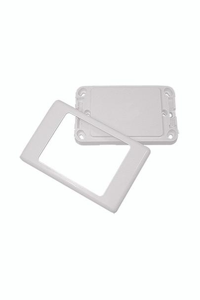 Blank Aust Flush Plate - P4600WHI