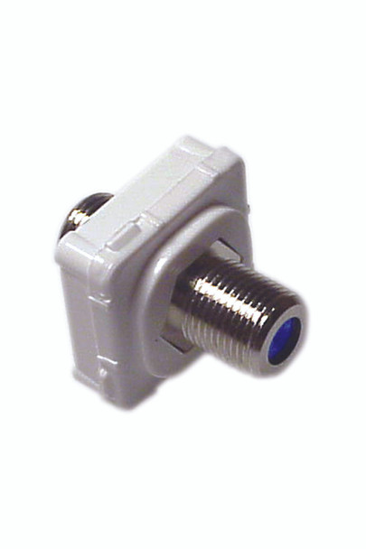 F-Type Connector Suits Aust Flush Plates - P4642