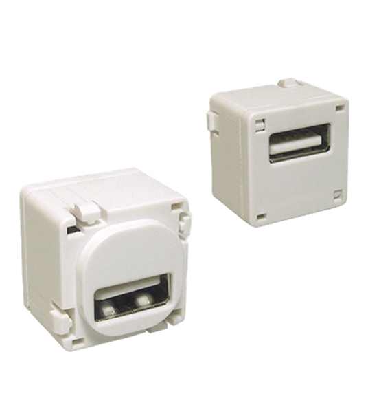 USB-A To USB-A Suits Aust Flush Plates - P4656-002