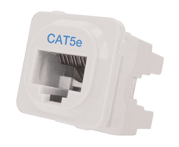 Cat 5e IDC Data Jack Whi 50-Bucket - P4665-050