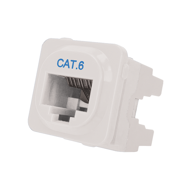 Cat 6 IDC Data Jack Whi 50-Bucket - P4666-050