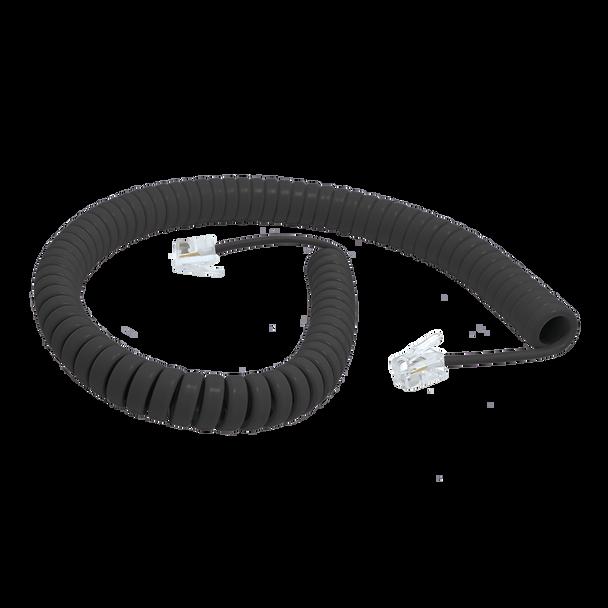 H/Set Cord 3m Black Ericsson 75Mm/260mm Tails - W3046