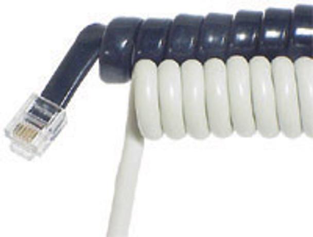 H/Set Cord 5m White - W3130
