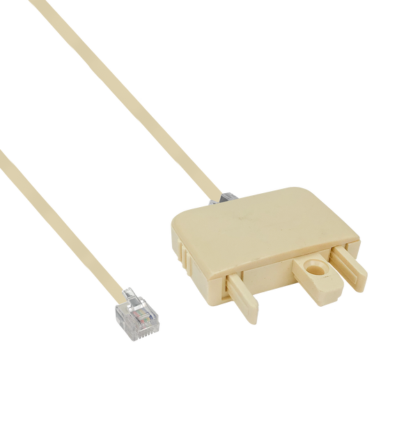606M modular plug adaptor and 6 position modular line