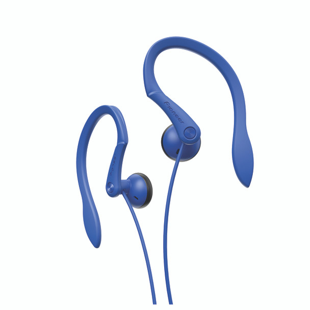 Pioneer Open-air Dynamic Sport Earphones Blue - SEE511L