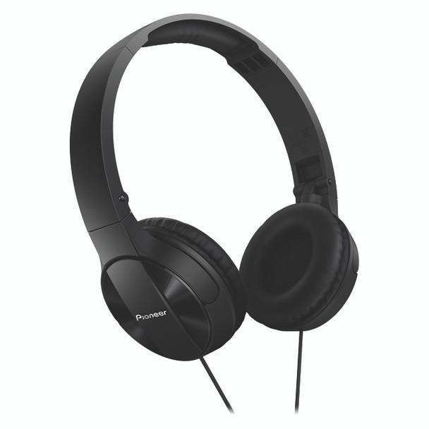 Pioneer Enclosed Dynamic Folding Headphones Black - SEMJ503K