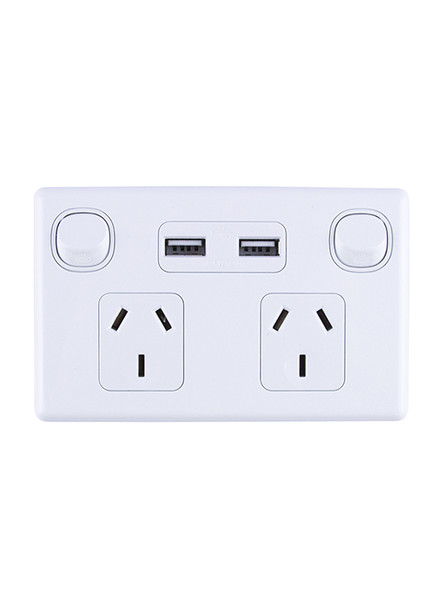 Double Power Point with USB