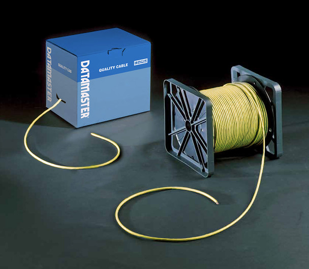 Cat6 Solid Cable; UTP Cable 305m Reel In Box: Yellow