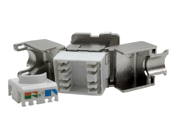 P4519 CAT-6A TOOLLESS REAR ENTRY