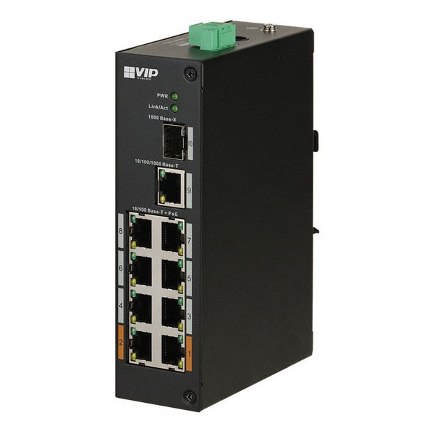 VSPOE-SW8H VIP Vision 8-port Unmgd