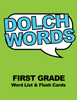 Dolch Words - First Grade Word List & Flashcards