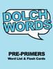 Dolch Words - Pre-Primers Word Word List & Flashcards