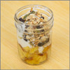 Yogurt Granola Berries and Honey Pound Cake in a Jar Visual Recipe & Comprehension Sheets: (Lv. 1) 16 Pages