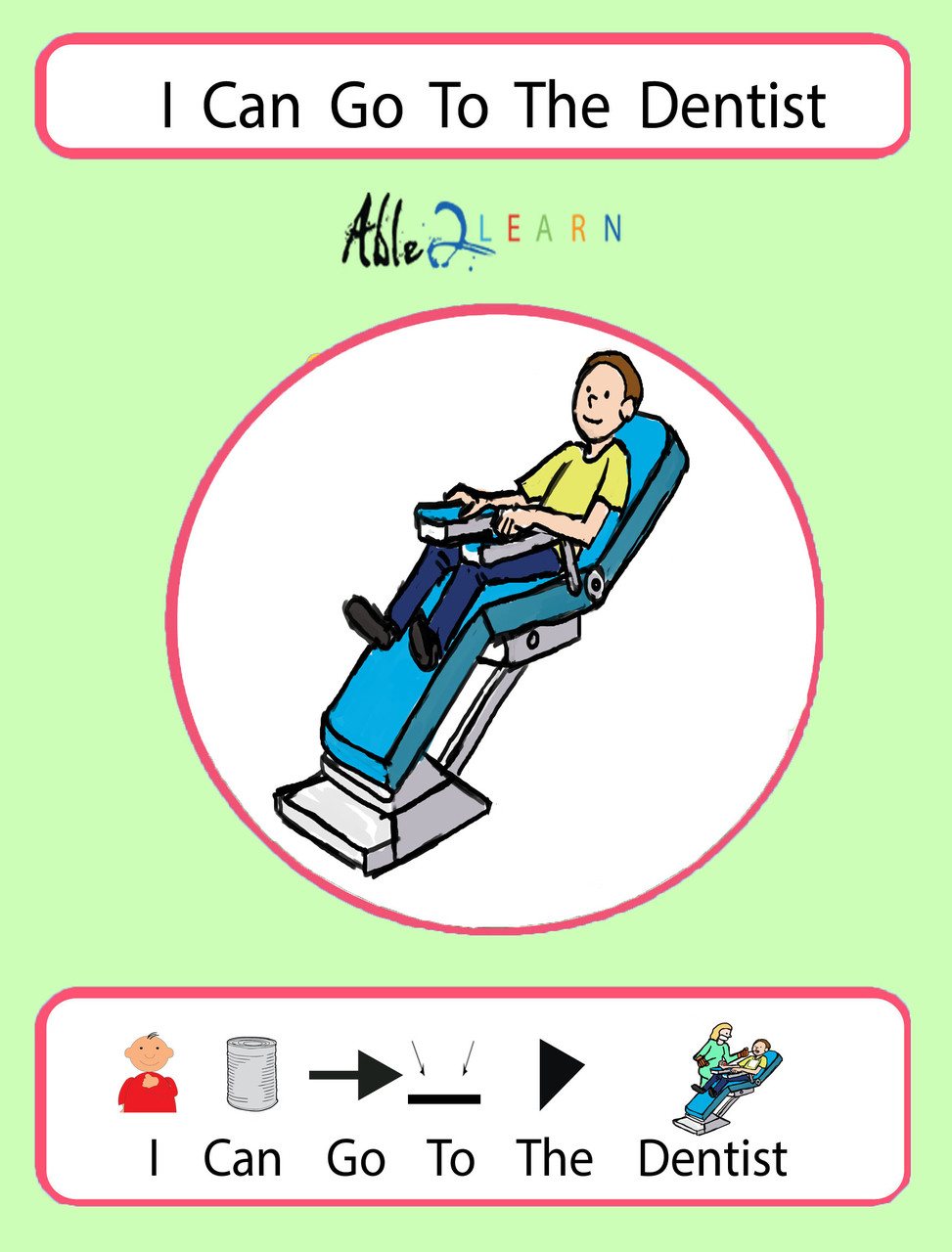 graphic relating to Free Printable Social Stories for Preschoolers named I Can Move In the direction of The Dentist: SOCIAL Tale 23 Webpages