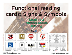 Life Skills: Learn The Different Signs: Levels 1 and Level 2 Pages 29