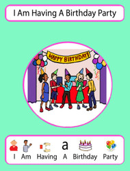 I Am Having  A Birthday Party Social Story: Pages 16