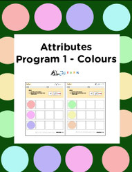 Learn About Attribution and Colours: Seriation:  Pages 8