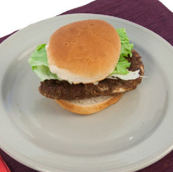 Chicken Burger  Visual  Recipe And Comprehension Sheets: Pages 18