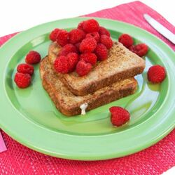 High Protein French Toast with Raspberries  Visual  Recipe And Comprehension Sheets: Pages 25