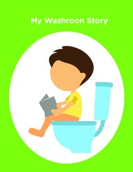 Niam Can Go To The Washroom SOCIAL STORY: BASIC LIVING SKILLS 9 PAGES