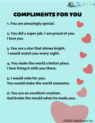 Compliments For You Wall Poster