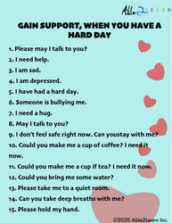 Gain support when you have had a hard day, Options, anxiety , frustration, mental health kit, autism, able2learn, autism covid, autism anxiety, autism bullying