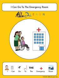 free social story_able2learn_i can go to the emergency room _autism_autism and health_free Aba resources_free printable