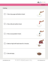 Chocolate Frosting: Step By Step Visual Recipes: Pages 6
