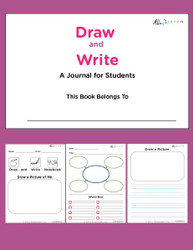 Draw And Write Journal - Girls Version