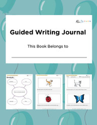 Guided Writing Journal  - Girls Version