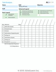 Data Sheet: Taking off Pants: 1 Page