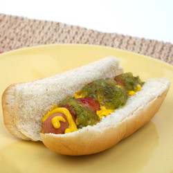 Hotdog with Ketchup, Mustard & Relish Toaster Oven Recipe And Comprehension Sheets: Pages 22
