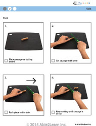 Cooking Skills - How to Cut a Sausage