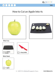 Cooking Skills - How to Cut an Apple