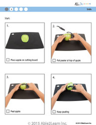 Cooking Skills - How to Peel an Apple