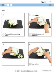 Cooking Skills - How to Cut Cauliflower