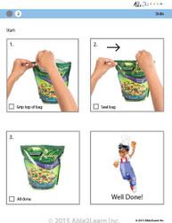 Cooking Skills - How to Reseal a Freezer Bag