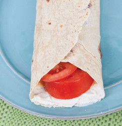 Cream Cheese and Tomato Wrap Visual Recipe & Comprehension Sheets: 18 Pages