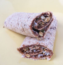 Chocolate with Granola and Coconut Wrap Visual Recipe & Comprehension Sheets: 18 Pages