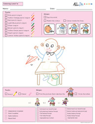 Guided Colouring  Program Level 3b - Pages 10