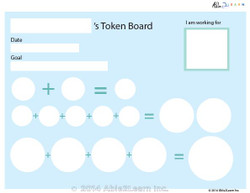 Money Token Board - Hard: 2: No Visual Support 2 Pages