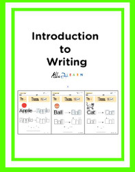 Learning To Print Workbook : 19 Pages