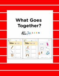 What Belongs Together Workbook: 12 Pages