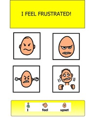 I FEEL FRUSTRATED: VISUAL STORY: BEHAVIOUR MANAGEMENT: PAGES 13