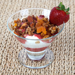 Jam Granola Parfait Visual Recipe And Comprehension Sheets: Pages 16